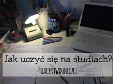 Sposoby na naukę na studiach. Link po kliknięciu w zdjęcie