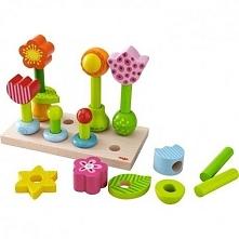Witajcie w poniedziałek:)  Wykonana z drewna układanka Haba 301551 -  Ogrodowe Kwiatki dla dzieci już od 18 miesięcy.   Zabawa polega na nakładaniu na siebie po kolei elementów,...