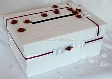 pudełko na koperty, ślub