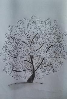 Drzewko - rysunek.