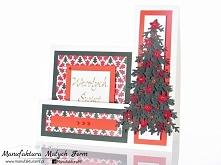 kartka świąteczna - rękodzieło