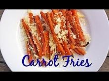 Carrot Fries - Healthy Vege...