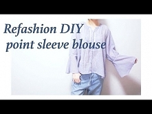 Refashion DIY point sleeve ...