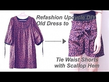 Refashion Upcycle DIY Tie W...