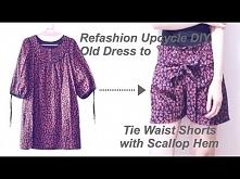 Refashion Upcycle DIY Tie W...