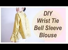 DIY Wrist Tie / Bell Sleeve...