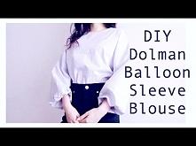 DIY Dolman / Balloon Sleeve...