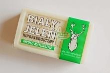 Mydło Biały Jeleń, 2 zł Świetne w przypadku podrażnionej, alergicznej skóry, ale także, kiedy chcesz zafundować ciału detoks od konserwantów, silikonów, sztucznych barwników i s...