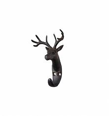 Wieszak metalowy rogi jelenia