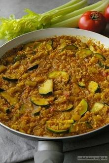 Warzywne kaszotto z curry. ...