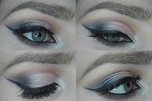 Half cut crease makeup edithmakeup.blogspot.com