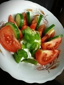 Wiejski, szpinak, pomidor, ...