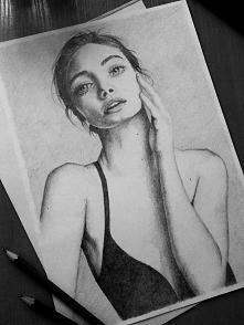 Kolejny portret mojego autorstwa :]  Rysuję portrety i inne na zamówienie. Za...
