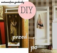 remont garderoby, malowanie, diy