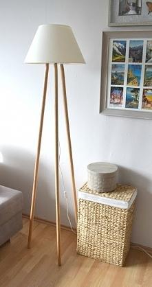 Lampa Tripod Wood - Sama zrobiłam