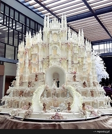 Tort ślubny!