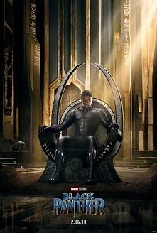 BLACK PANTHER (2018) - pierwszy plakat