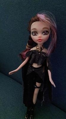 mój pierwszy repaint lalki