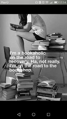 Bookaholickiem  trzeba sie ...