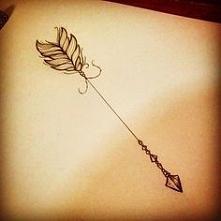 strzala tattoo