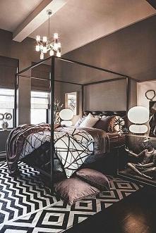 Piękna sypialnia