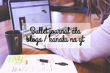 Bullet journal dla bloga/ kanału na yt  50 pomysłów na strony  zapraszam :)