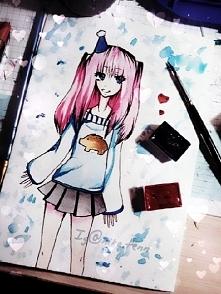 rysunek dla @kaai_ring z okazji jej urodzin <33