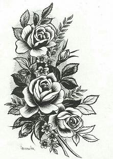 Cudny wzór na tatuaż :)