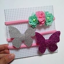 Ręcznie wykonane opaski.. Fb: Moni Handmade Ig: @recznerobotkimoni