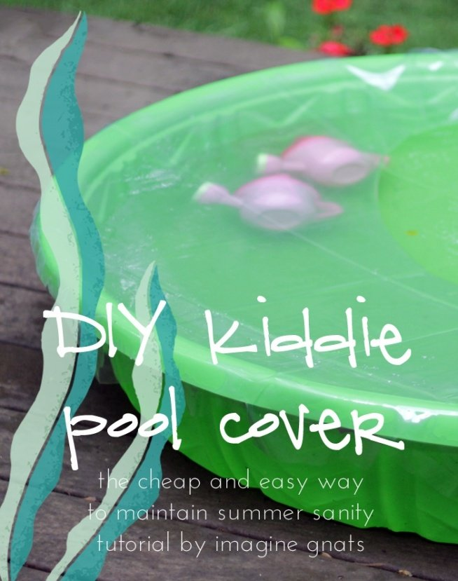 DIY: kiddie pool cover