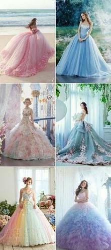 Wspaniałe suknię