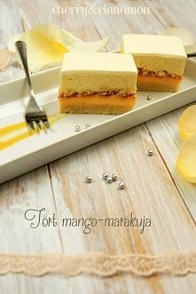 Tort mango-marakuja