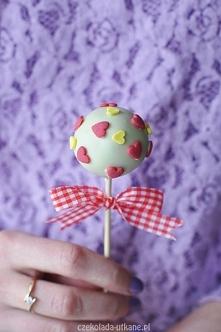 Cake pops – wersja na walentynki