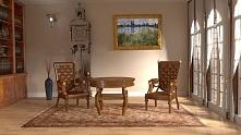 Do klasycznych wnętrz idealnie pasują obrazy wielkich artystów. Jednym z nich...