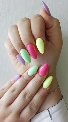 Letnie paznokcie <3 #semilac