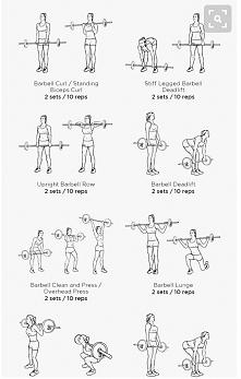 ćwiczenia ze sztangą całe ciało
