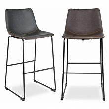 Krzesła barowe Merlin styl loftowy