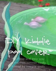 DIY: kiddie pool cover