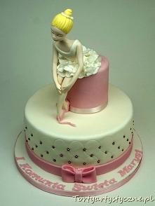 Tort z Baletnicą