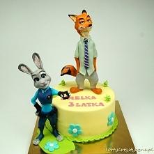 Zootopia tort dla dzieci