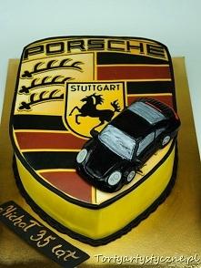 Porsche tort urodzinowy