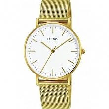 Lorus RH888BX8 kobiecy zegarek z mechanizmem kwarcowym, wykonany ze stali szl...