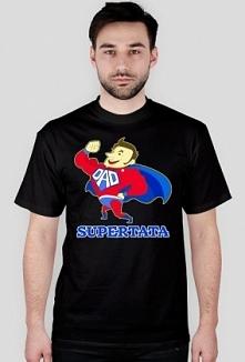 Prezent na Dzień Ojca koszulka Supertata