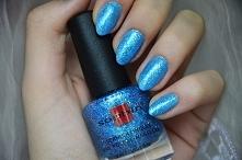 Brokatowe paznokcie!Kliknijcie w zdjęcie, przeniesie Was do bloga:)
