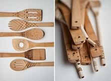 Wzory na drewnianych przybo...