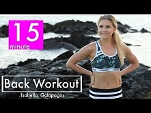 15 Minute Back Workout | Rebecca Louise