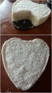 Rafaelo z ryzu  przepis: 2 woreczki ryzu mleko kokosowe cukier/ inne slodzidl...