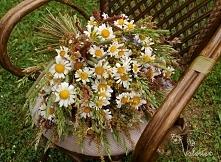 Bukiet z ląkowych kwiatow. Bukiet z polnych kwiatow.