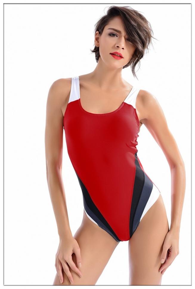 Sportowy a zarazem kobiecy. Idealny na basen. Z lekkim push'upem Po kliknięciu w zdjęcie możesz je kupić.