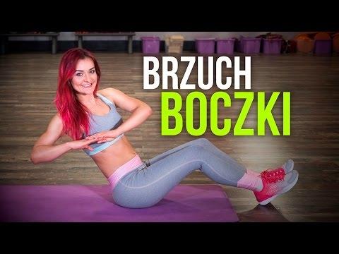 ĆWICZENIA NA BRZUCH I BOCZKI Mój ulubiony trening na tą część ciała, tym razem znowu Monika Kołakowska :)